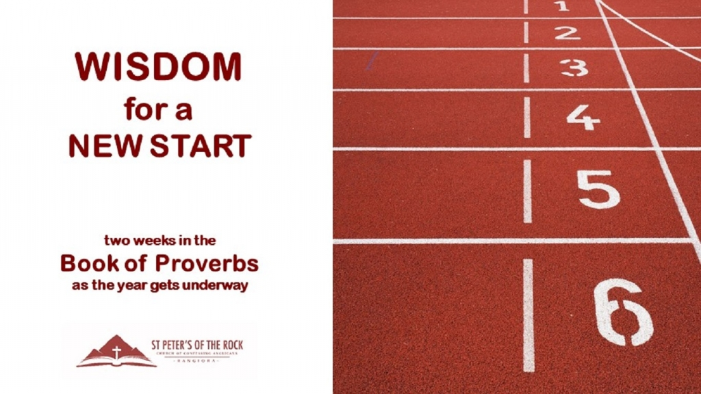 Proverbs - Wisdom for a New Start